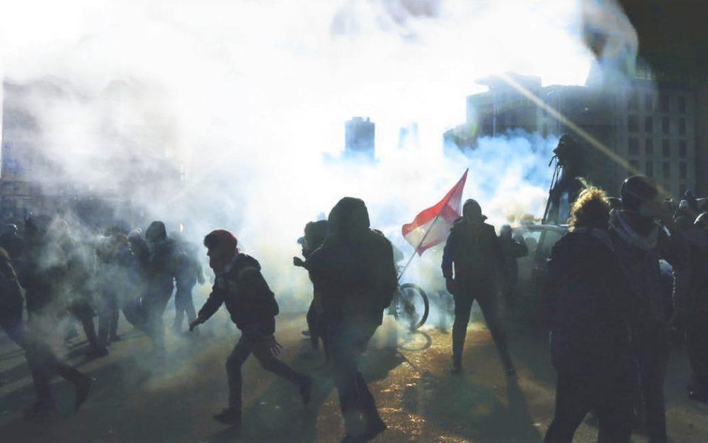 LA RÉVOLTE DU PEUPLE LIBANAIS